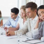 Whats the best way to stay awake in meetings?